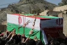 2 شهید بسیجی در کورین زاهدان تشییع شدند
