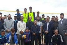 رقابت های والیبال ساحلی منطقه ای در بندرترکمن پایان یافت