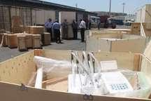کشف 38 یونیت دندان پزشکی قاچاق در گمرک بوشهر