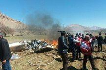 شناسایی هویت اجساد جان باختگان سقوط بالگرد انجام شد