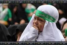 مراسم شیرخوارگان حسینی در حرم عبدالعظیم(ع) برگزار شد