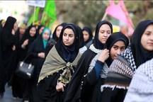 440 دانش آموز ورامینی عازم سرزمین های دفاع مقدس شدند