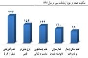 بیشتر شکایت اصفهانی ها مربوط به عدم آنتن دهی تلفن همراه است