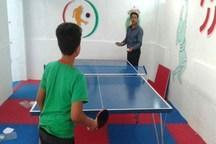 دو خانه ورزش روستایی در ریگان افتتاح شد