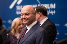 گفت و گوی تلفنی پامپئو با رئیسجمهور جدید عراق