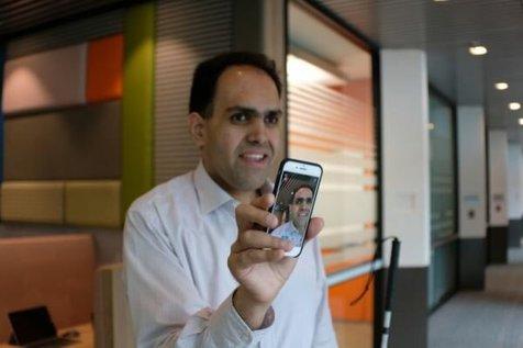 این اپلیکیشن تصاویر را برای نابینایان توضیح می دهد