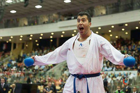 لیگ جهانی کاراته وان 2018 - برلین؛ پایان کار نمایندگان ایران با 1 طلا و 2 برنز / گنجزاده قهرمان شد