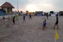 نمایندگان  هرمزگان و اصفهان به مرحله نهایی فوتبال ساحلی کشور راه یافتند