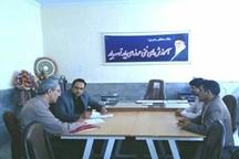 جلسه هم اندیشی بین مرکز آموزش فنی و حرفهای غدیر خم  بروجرد و کمیته امداد این شهرستان