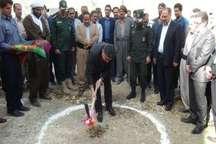آغاز عملیات ساخت 2 پروژه عمرانی و خدماتی در شهر اورامان تخت