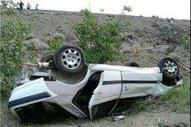 یک کشته و سه مصدوم بر اثر واژگونی خودروی سواری در محور هشترود - قره چمن در آذربایجان شرقی