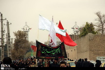 جنوب شرق استان تهران در عاشورای حسینی غرق در عزا و ماتم است