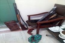 متخلفین شکار غیرمجاز پرنده خوتکا در قزوین به دام افتادند
