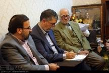 همراه با وزیر فرهنگ در گلستان شعر 'نظمی'