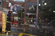 عکس/ انفجار در مرکز تجاری کلمبیا