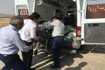 سانحه در مسیر امیدیه-ماهشهر 2 کشته و 9 مصدوم برجا گذاشت