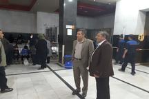 سقف بیمارستان امام خمینی ارومیه فرونریخته است