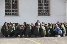 رزمایش آمادگی به هنگام زمین لرزه در آستارا برگزار شد