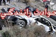 یک کشته و دو مصدوم نتیجه انحراف به چپ راننده پژو در کرمانشاه