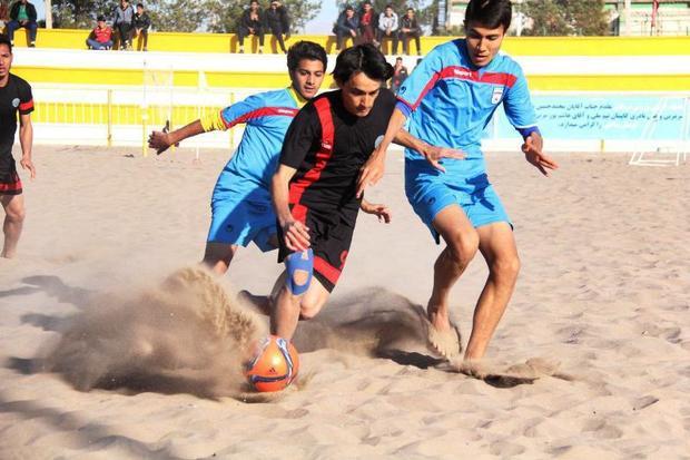 تیم فوتبال ساحلی ایفا اردکان مقاومت گلساپوش را شکست داد