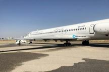 حادثه در فرودگاه هاشمینژاد مشهد  چرخهای هواپیما ترکید