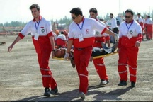 امدادرسانی هلال احمر به ۴۲ مصدوم در البرز