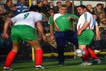 بانک ملی قهرمان مسابقات فوتبال پیشکسوتان تهران شد