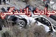 حادثه رانندگی در مشگین شهر یک کشته و سه مصدوم برجای گذاشت