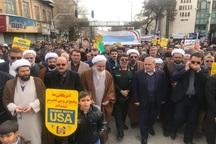 حضور مردم در راهپیمایی 22 بهمن سیلی بر صورت استکبار بود