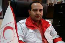 رییس جمعیت هلال احمر: امدادگران بشرویه به 10 سانحه جاده ای امداد رسانی کردند