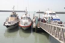 رفت وآمد شناورهای مسافری در آبهای هرمزگان متوقف است