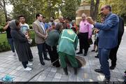 تهرانگردی احمد مسجدجامعی با موضوع آب