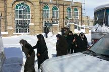1419 مسافر در مجموعه ورزش غدیر و مساجد زنجان اسکان یافتند