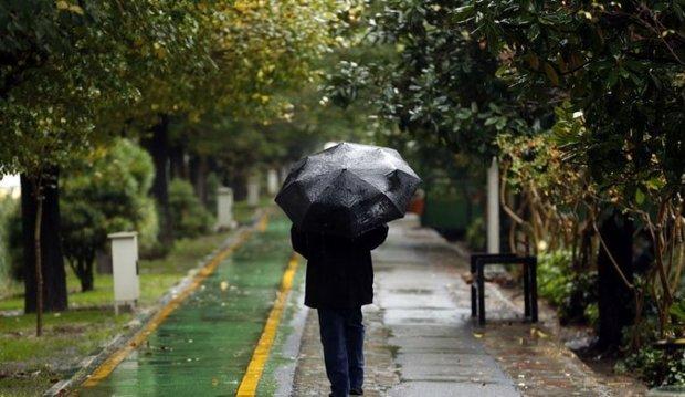 بارش باران و وزش باد برای استان تهران پیش بینی می شود
