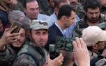 حضور بشار اسد در جبهه ادلب+عکس