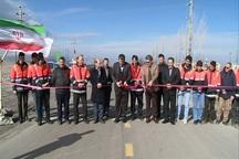 هفت پروژه راهسازی در مشگین شهر افتتاح شد