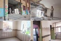 تسریع در روند بازسازی مدرسه راه شهدا اسلام آباد ارومیه
