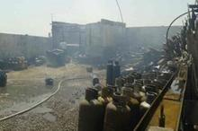 انفجار واحد گاز LPG در ورامین یک را مصدوم کرد