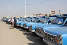 45خودرو خدماتی به دهیاری های فارس واگذار شد