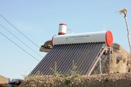 ۲۹۴ آبگرمکن خورشیدی در ۱۲ روستای زنجان نصب شد