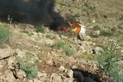 2 نفر در آتش سوزی خودروی دوو جان باختند