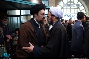مراسم وداع با پیکر آیت الله هاشمی رفسنجانی(ره) در حسینیه جماران-10