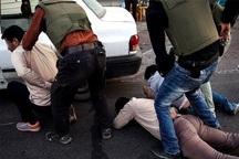 باند سارقان مسلح در عملیات ضربتی پلیس خوزستان منهدم شد