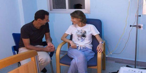 ابتلای اسماء اسد همسر بشار اسد به بیماری سرطان+عکس