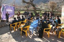 جشن آبرسانی به دو روستای ایذه برگزار شد