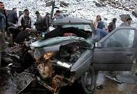 تصادف خودروی همراهان وزیر بهداشت+ تصاویر