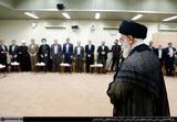 دیدار کابینه روحانی با رهبر انقلاب