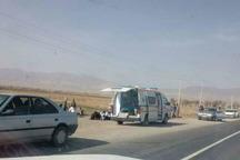تصادف پژو پارس و وانت در تربت حیدریه یک کشته و 7زخمی برجای گذاشت
