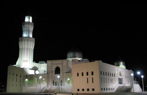 بزرگترین و زیباترین مسجد کانادا + تصاویر