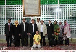ادای احترام گروه دوستی پارلمانی تایلند به بنیانگذار جمهوری اسلامی ایران